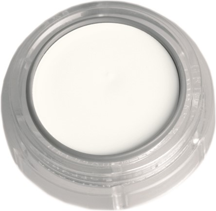 Creme Make-Up Grimas 001 Wit (2,5ml)