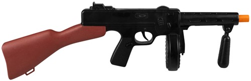 Machinegeweer Gangster Machinegeweer Tommy Gun (49cm)