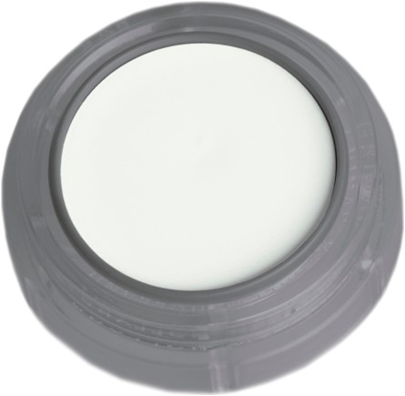 Grimas Water Make-up 010 Fluor Wit (2,5ml)