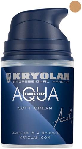Softcream 50ml Kryolan Aquacolor 3W