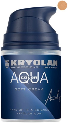 Softcream 50ml Kryolan Aquacolor 4W