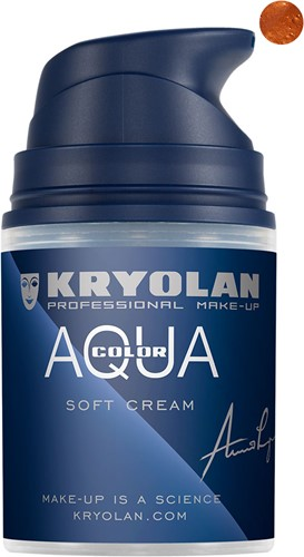 Softcream 50ml Kryolan Copper Aquacolor