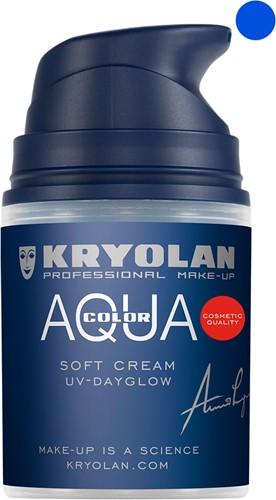 Softcream 50ml Kryolan UV-Blauw Aquacolor