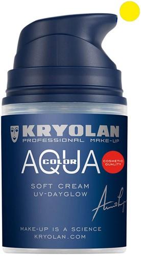 Softcream 50ml Kryolan UV-Geel Aquacolor