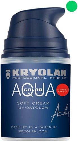 Softcream 50ml Kryolan UV-Groen Aquacolor