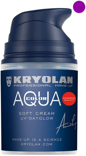 Softcream 50ml Kryolan UV-Paars Aquacolor