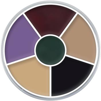 Kryolan Supracolor Vetschmink Black Eye (6 kleuren)
