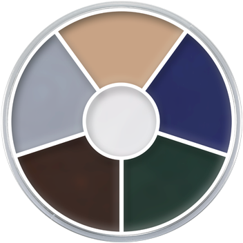 Kryolan Supracolor Vetschmink Zombie (6 kleuren)