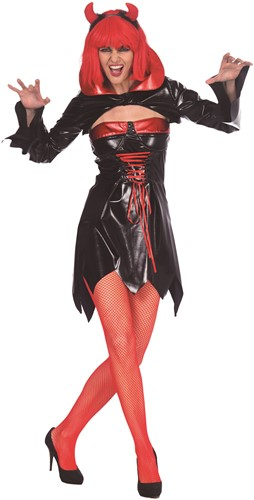 Dameskostuum Sexy Vampier Zwart