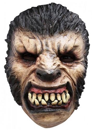 Weerwolf Gezichtsmasker (latex)