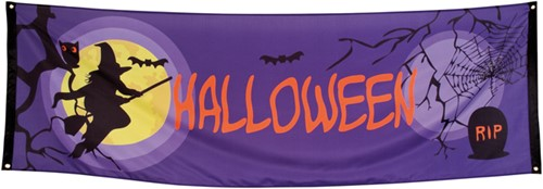 Halloween Banner Midnight Moon (74X220cm)