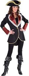 Damesjas Piraat Scarlet