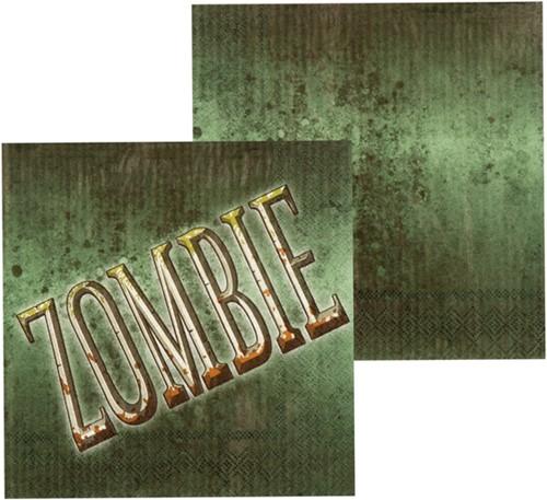 Servetjes Zombie (set van 12)