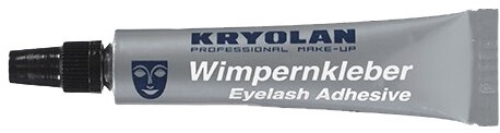 Kryolan Wit 8ml Wimperlijm Waterproof