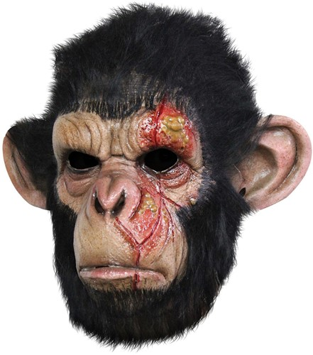 Gezichtsmasker Infected Chimp (luxe)