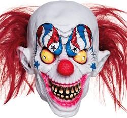 Clownsmasker Creepy Halloween Clown