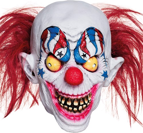 Creepy Halloween Clownsmasker (Latex)