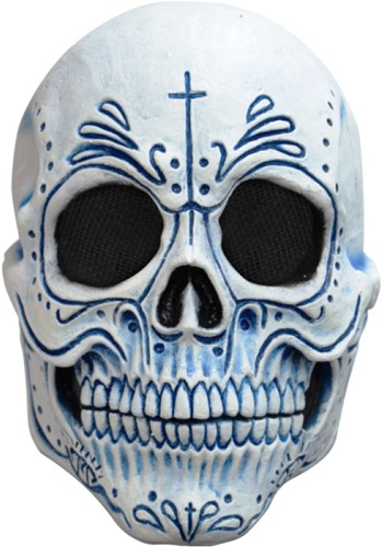 Masker Mexican Catrin Latex Luxe (Day of the Dead)