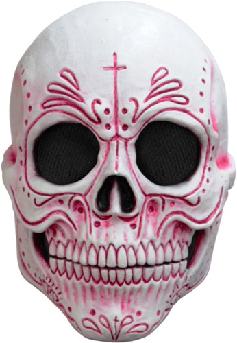 Masker Mexican Catrina Latex Luxe (Day of the Dead)