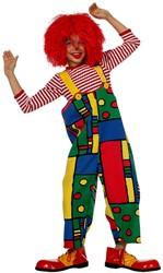 Clownsbroek Mondriaan voor kinderen