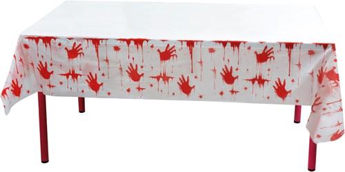 Bloody Halloween Tafelkleed Plastic (135x275cm)