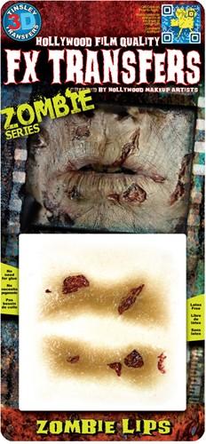 Professionele Special FX Wond - Zombie Lippen