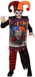 Halloweenkostuum Sinister Joker voor kinderen