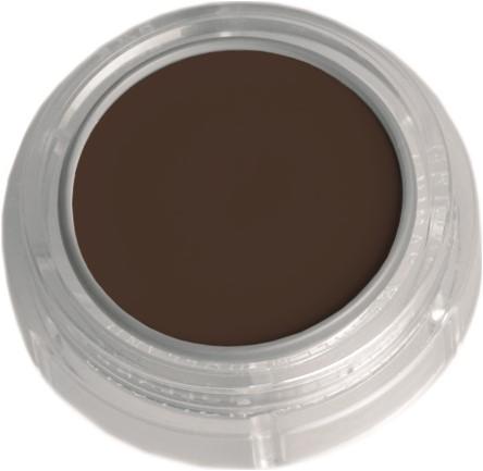 Creme Make-Up Grimas 1001 Donkerbruin (2,5ml)