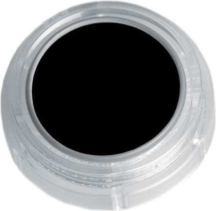 Grimas Water Make-up 101 Zwart (2,5ml)