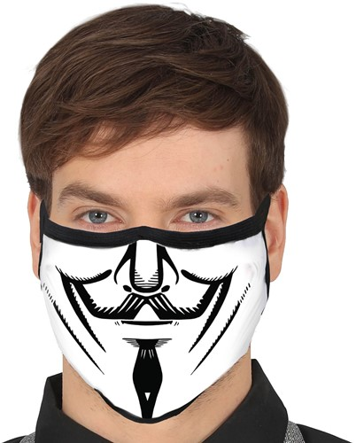 V For Vendetta Mondkapje