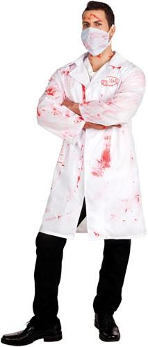 Doktersjas Dr. Mad met bloed