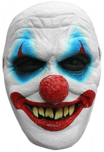 Smiling Creepy Clown Gezichtsmasker (latex)