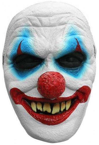 Smiling Creepy Clown Gezichtsmasker (latex)
