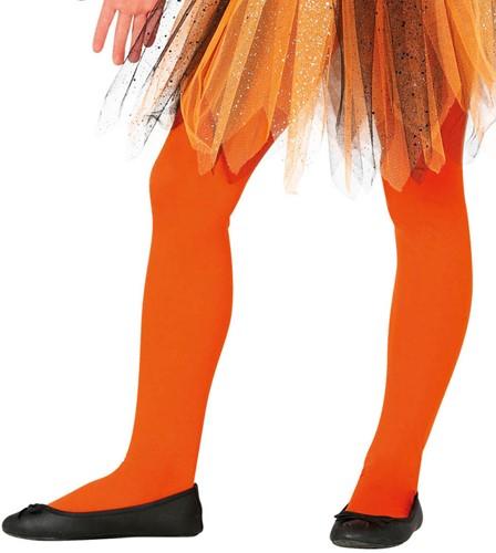 Oranje Panty voor Kinderen