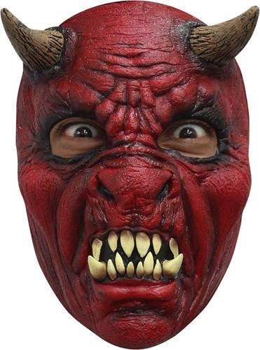 Diabolus Duivel Masker Latex (Gezichtsmasker)