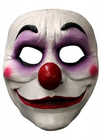 Gezichtsmasker Purple Clown Latex
