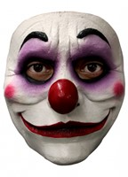 Gezichtsmasker Purple Clown Latex -2