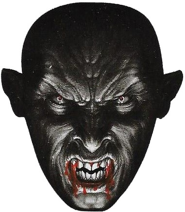 Morph Masker Weerwolf (Stretch Stof)