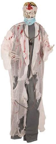 Hangdecoratie Halloween Dokter 180cm (met LED)