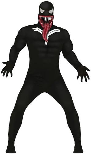 Herenkostuum Black Venomous Spider