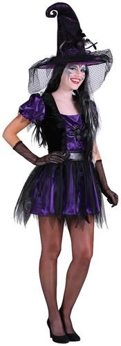Heks Spider Damesjurk Halloween