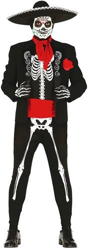 Herenkostuum Mexicaans Skelet - Day of the Dead