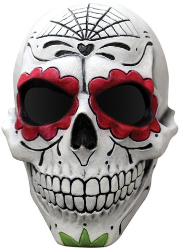 Masker Catrin Gentleman Latex - Day of the Dead