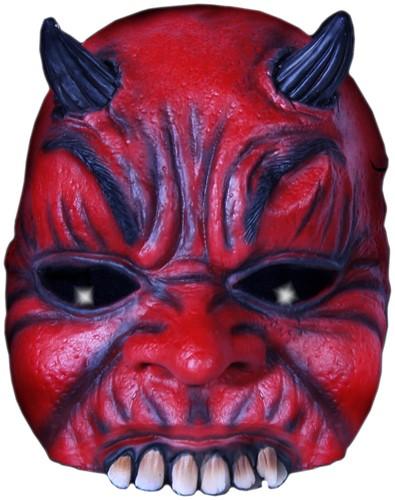 Duivel Half Masker Luxe