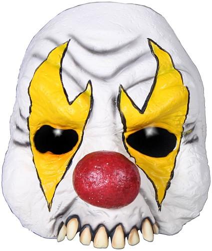 Horror Clown Half Masker Luxe