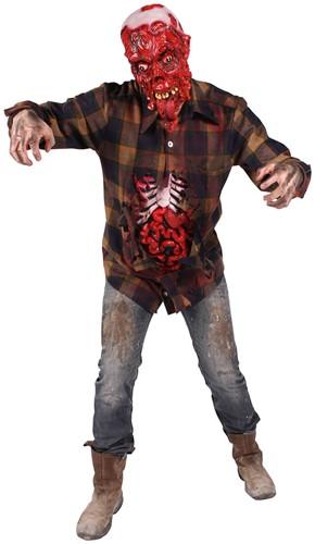 Blouse Halloween Running Dead met Ingewanden