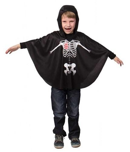 Skelet Cape voor kinderen
