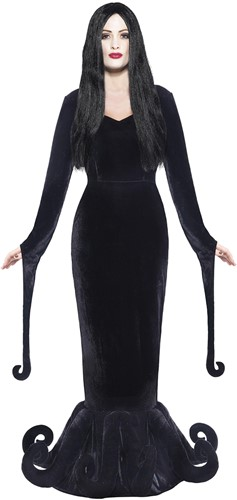 Morticia Heksenjurk Luxe - The Addams Family