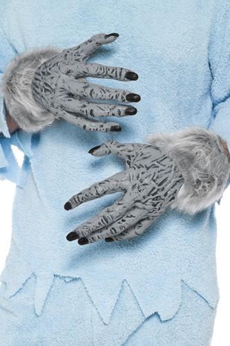 Handschoenen Weerwolf Grijs voor volwassenen