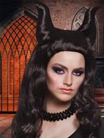 Pruik Duivel Demona Maleficent-3